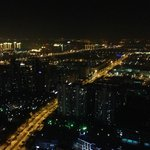 Night view from 55th floor lounge