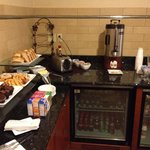 Breakfast, Executive Lounge II of II. Serves Fresh Fruit and Starbucks