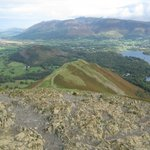 Cat Bells, looking towards Skiddaw and Keswick