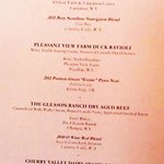 Tasting menu (Trip advisor photo program cropped out much of it - sorry)-