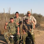 In the field - Sierra Brava Dove Hunt