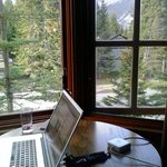 Wonderful place to sit and work.