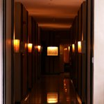 Widus Clark AB - Hotel corridor leading to rooms 121 to 125