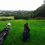views from Corby golf course
