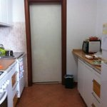 Kitchen/ connecting door