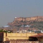 View of the fort from Govind Hotel