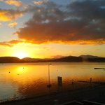 sunset at Oban