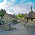 Castle Combe village centre