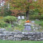 Peak of fall colors at Stone Hill Inn