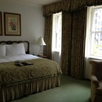 Room 206--very spacious, with traditional decor