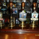 Just some of the Real Ales available