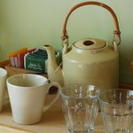 Tea and coffee for free in the room