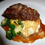 signature short rib over mashed potatoes