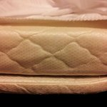 3 inch thick sofabed mattress (park benches more comfortable)