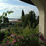 View toward Lake Garda from the Balcony