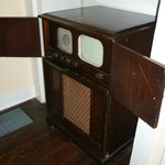 Old TV at George C. Marshall House