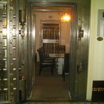 Conference room within the old bank vault