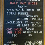 Current prices for a Mule rides,
