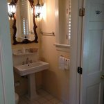 Comfortable bathroom space