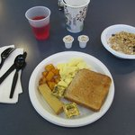 BEST WESTERN Harborside Inn: poor breakfast