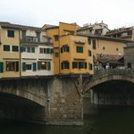 View of Ponte Vecchio from room