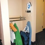 Handicapped accessible room