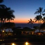 The view from Chuck's Ko Olina just after sunset...