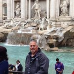 me at ghe Trevi Fountain