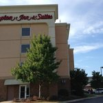 Exterior view of the Hampton Inn & Suites, Montgomery AL, East Chase
