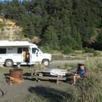 Фотография Gold Bluffs Beach Campground