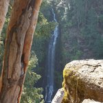There are four waterfalls with nice hiking trails
