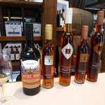 selection of wines at Campbells Winery