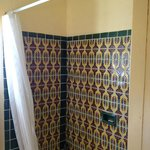 Calamity Jane room #12 shower