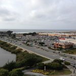 Embassy Suites Hotel Monterey Bay, view to the west