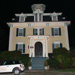 Marblehead Inn at night