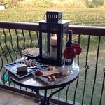 Wine and Cheese on the Terrace
