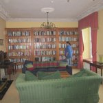 The Library and sitting room