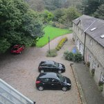 Ample car parking off road