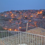 Twilight view of Ragusa from the terrace