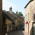 One of the charming streets of Stow.
