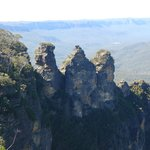The famous Three Sisters rock formation