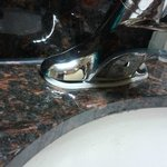 Both of our rooms had faucets that could be lifted right off the sink! Must be a known issue.
