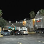 Corpus Christi Residence Inn at night.