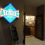 The Athletic Club entrance