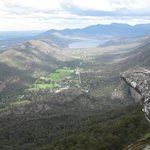 Best view of Halls Gap is Boroka Lookout