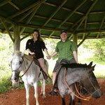 Horseback riding was one of the highlights of our trip