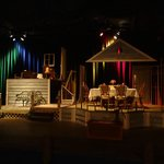 """The set of """"The Miracle Worker"""" Fall 2013"""