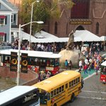 View of the Salem Witch Museum from our room