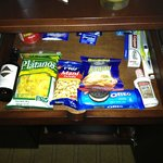 Snack Bar in the room