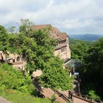 Hotel from walkway to Eisenach castle